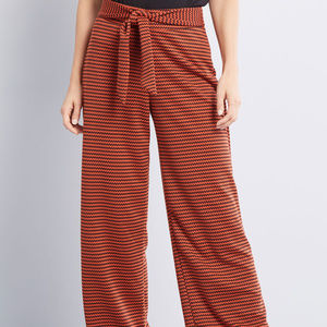 Modcloth Likely Outcome Wide-Leg Pants